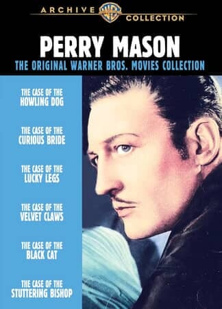 Perry Mason Mysteries: the Original Warner Bros. Movies Collection - Image - Image 1