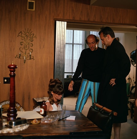 julie christie, director dick lester and george c. scott in petulia available on digital and dvd