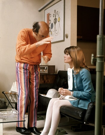 julie christie and director dick lester in petulia available on digital and dvd