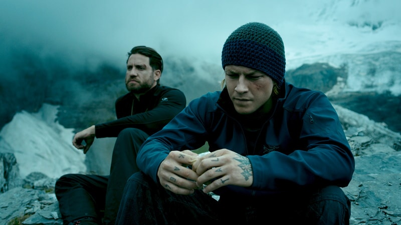 "EDGAR RAMIREZ as Bodhi and LUKE BRACEY as Utah in Alcon Entertainment's action thriller ""POINT BREAK,"" a Warner Bros. Pictures release."