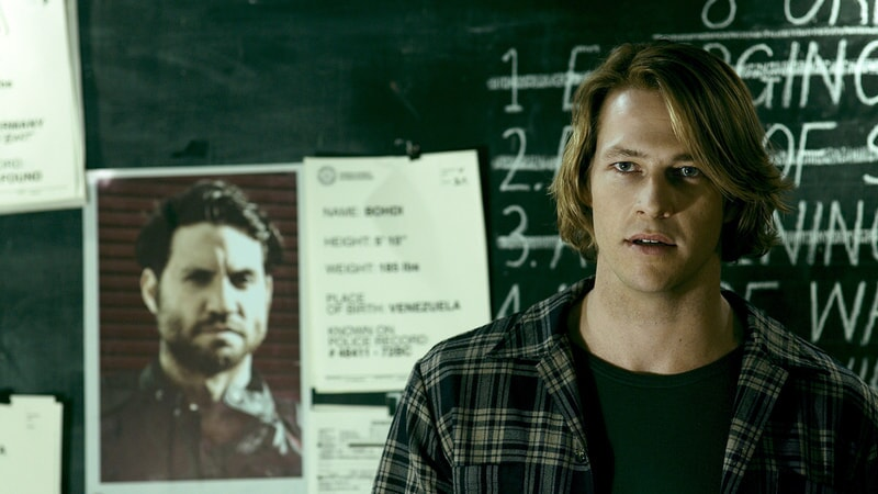 "LUKE BRACEY as Utah in Alcon Entertainment's action thriller ""POINT BREAK,"" a Warner Bros. Pictures release."