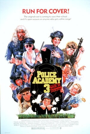 Police Academy 3: Back in Training - Poster 1
