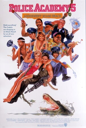 Police Academy 5: Assignment Miami Beach - Poster 1