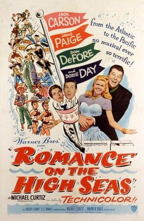 Romance on the High Seas - Poster 2