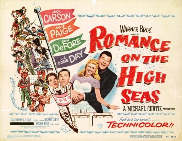 Romance on the High Seas - Poster 4