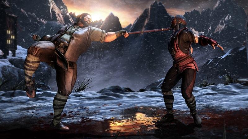 Mortal Kombat XL: player engaging in battle