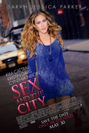 Sex and the City: The Movie - Poster 1