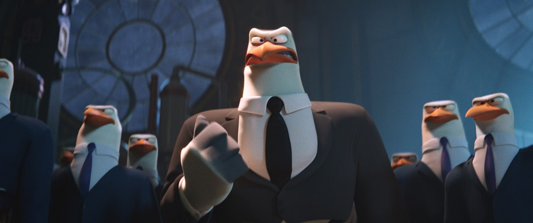 Hunter voiced by KELSEY GRAMMER