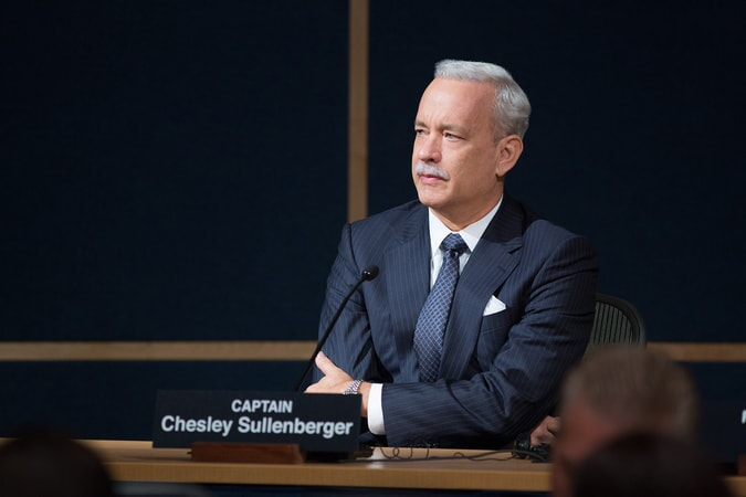"TOM HANKS as Chesley ""Sully"" Sullenberger in the upcoming film ""SULLY,"""