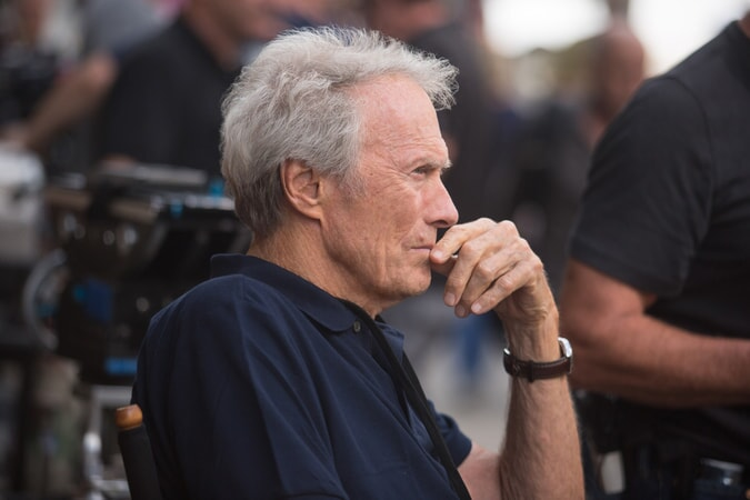 "Director/producer CLINT EASTWOOD on the set of Warner Bros. Pictures' and Village Roadshow Pictures' drama ""SULLY,"" a Warner Bros. Pictures release."