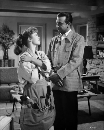 dick powell, debbie reynolds in susan slept here