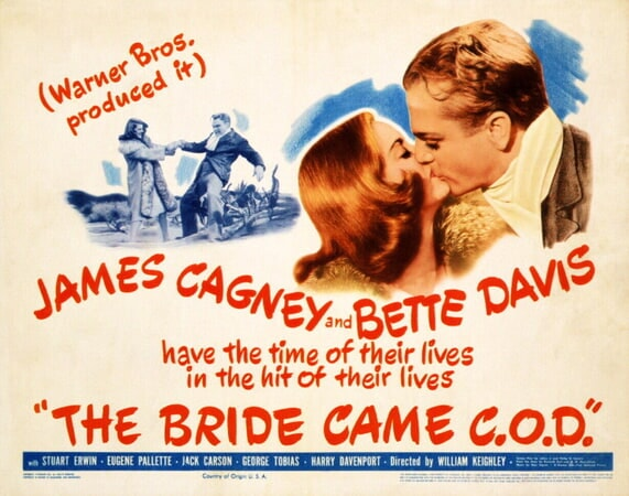 The Bride Came C.O.D. - Poster 2