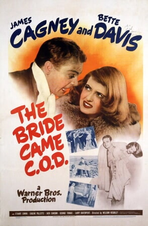 The Bride Came C.O.D. - Poster 1