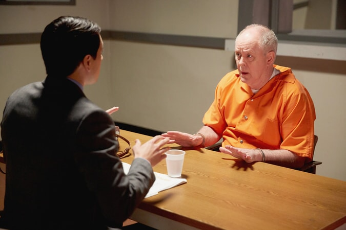 John Lithgow and Nicholas D'Agosto in Trial & Error