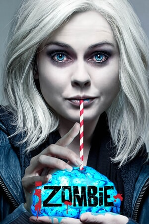 iZombie Season 3: Liv sipping on a brain with a red and white striped straw