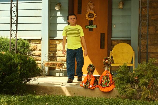 "Atticus Shaffer as Brick Heck in Episdoe 2, Season 9 ""Please Don't Feed the Hecks"""