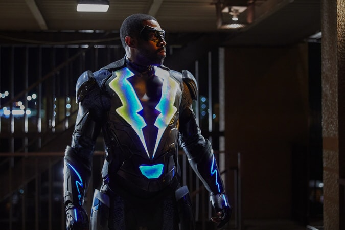 "Cress Williams as Black Lightning in episode ""Dark Matter of My Brain"""