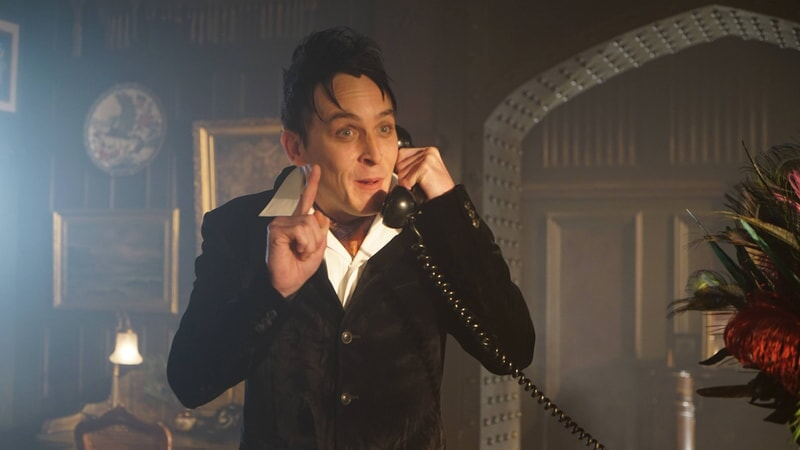 "Robin Lord Taylor as Oswald Cobblepot / The Penguin. Gotham 3, ep. 7 ""The Red Queen"""