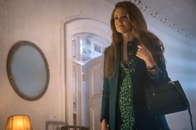 "Maggie Geha as Ivy Pepper. Gotham 3, ep. 9 ""The Executioner"""