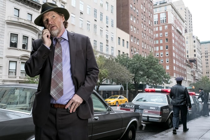 "Donal Logue as Detective Harvey Bullock. Gotham 3, ep. 9 ""The Executioner"""