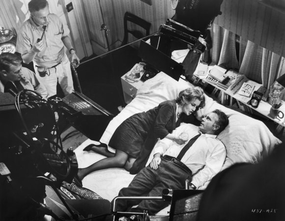 behind the scenes with elizabeth taylor and richard burton in who's afraid of virginia woolf