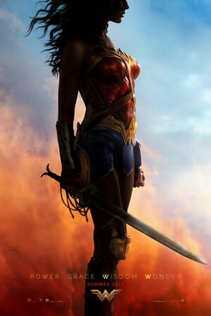 Wonder Woman in profile