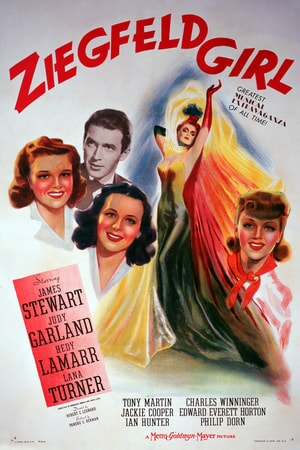 One-sheet poster featuring James Stewart as Gilbert Young, Judy Garland as Susan Gallagher, Hedy Lamarr as Sandra Kolter and Lana Turner as Sheila Regan.
