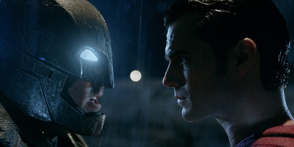 """BEN AFFLECK as Batman and HENRY CAVILL as Superman in Warner Bros. Pictures' action adventure """"BATMAN v SUPERMAN: DAWN OF JUSTICE,"""" a Warner Bros. Pictures release."""