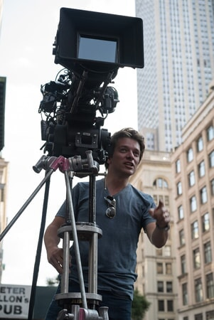 """Director CHRISTIAN DITTER on the set of New Line Cinema's, Metro-Goldwyn-Mayer Pictures' and Flower Films' comedy """"HOW TO BE SINGLE,"""" a Warner Bros. Pictures release."""
