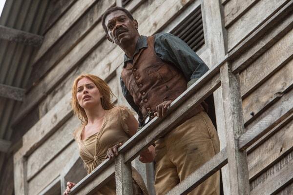 MARGOT ROBBIE as Jane and SAMUEL L. JACKSON as George Washington Williams
