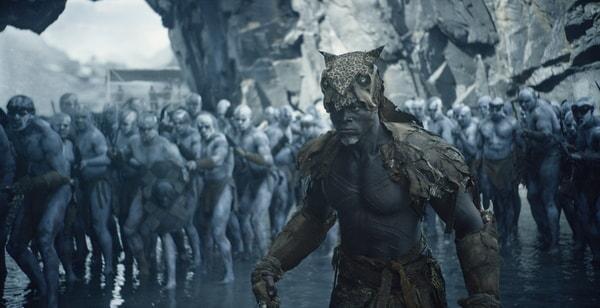 DJIMON HOUNSOU as Chief Mbonga