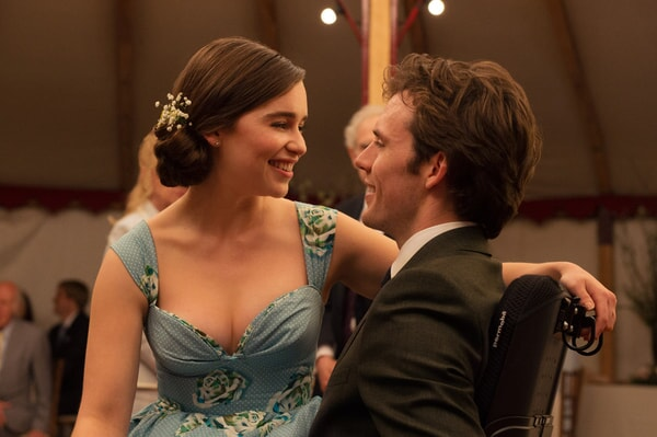 "EMILIA CLARKE as Louisa ""Lou"" Clark and SAM CLAFLIN as Will Traynor in New Line Cinema's and Metro-Goldwyn-Mayer Pictures' romantic drama ""ME BEFORE YOU,"" a Warner Bros. Pictures and Metro-Goldwyn-Mayer Pictures release."