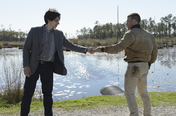 """ADAM DRIVER as Sevier and JOEL EDGERTON as Lucas in director Jeff Nichols' sci-fi thriller """"MIDNIGHT SPECIAL,"""""""