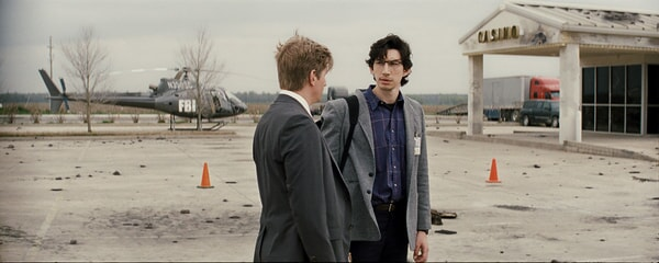 """PAUL SPARKS as Agent Miller and ADAM DRIVER as Sevier in director Jeff Nichols' sci-fi thriller """"MIDNIGHT SPECIAL,"""""""