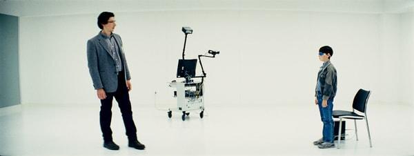 "ADAM DRIVER as Sevier and JAEDEN LIEBERHER as Alton in director Jeff Nichols' sci-fi thriller ""MIDNIGHT SPECIAL,"""