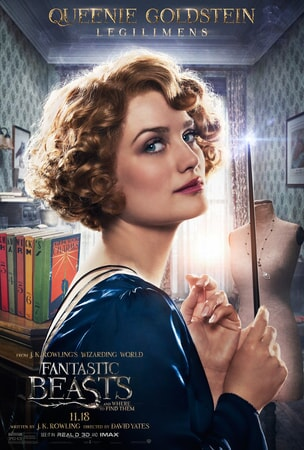 Fantastic Beasts and Where to Find Them character poster: Queenie Goldstein