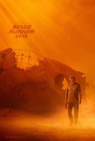 Harrison Ford as RRick Deckard in Blade Runner 2049