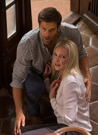 """GEOFF STULTS as David Connover and KATHERINE HEIGL as Tessa Connover in Warner Bros. Pictures' dramatic thriller """"UNFORGETTABLE,"""" a Warner Bros. Pictures release."""