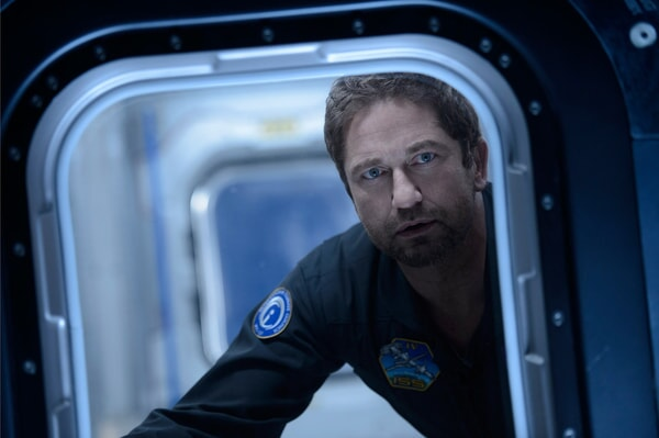 "GERARD BUTLER as Jake Lawson in Warner Bros. Pictures' and Skydance's suspense thriller ""GEOSTORM,"" a Warner Bros. Pictures release."