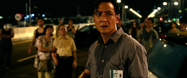 "DANIEL WU as Cheng in Warner Bros. Pictures' and Skydance's suspense thriller ""GEOSTORM,"" a Warner Bros. Pictures release."