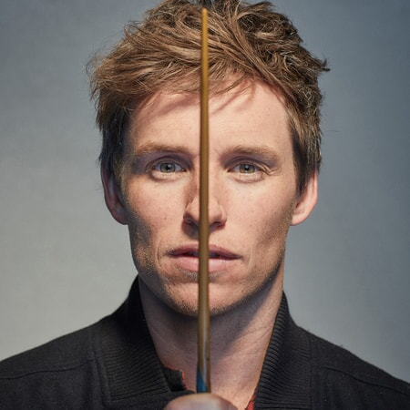 "Eddie Redmayne ""Wands Ready"" publicity photo"