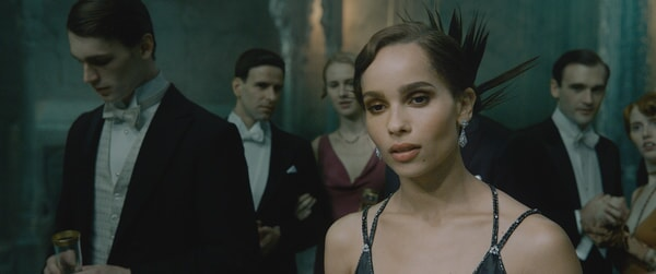 "ZOË KRAVITZ as Leta Lestrange in Warner Bros. Pictures' fantasy adventure ""FANTASTIC BEASTS: THE CRIMES OF GRINDELWALD,"" a Warner Bros. Pictures release."