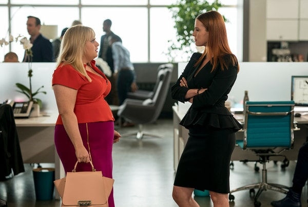 (L-R) REBEL WILSON as Natalie and BETTY GILPIN as Whitney