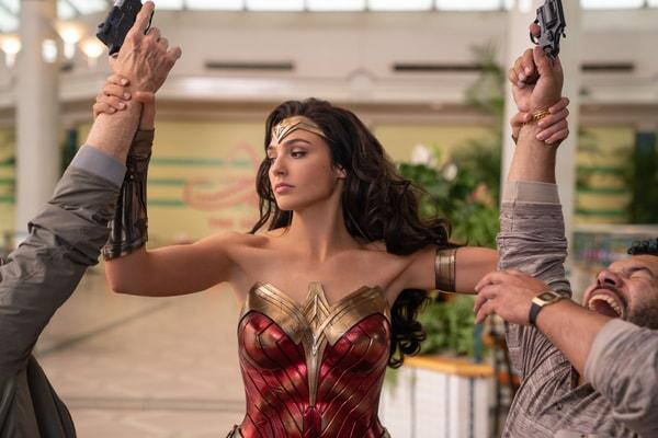 "GAL GADOT as Wonder Woman in Warner Bros. Pictures' action adventure ""WONDER WOMAN 1984,"""