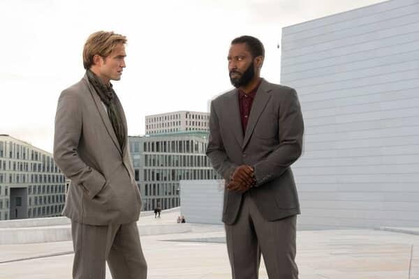 "JOHN DAVID WASHINGTON and ROBERT PATTINSON and in Warner Bros. Pictures' action epic ""TENET."""
