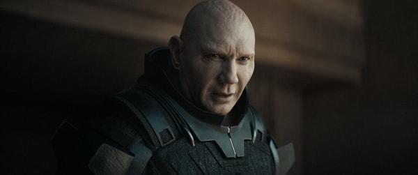 "DAVE BAUTISTA as Rabban Harkonnen in Warner Bros. Pictures' and Legendary Pictures' action adventure ""DUNE"""