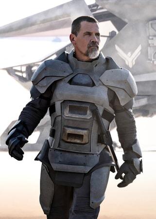 "JOSH BROLIN as Gurney Halleck in Warner Bros. Pictures and Legendary Pictures' action adventure ""DUNE."""