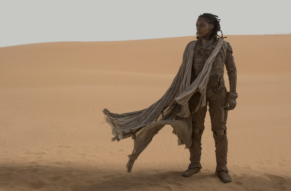 """SHARON DUNCAN-BREWSTER as Liet Kynes in Warner Bros. Pictures and Legendary Pictures' action adventure """"DUNE."""""""