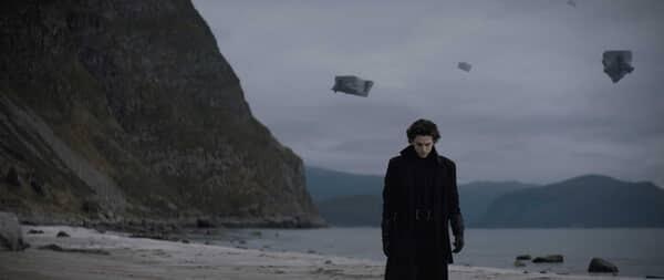 "TIMOTHÉE CHALAMET as Paul Atreides in Warner Bros. Pictures and Legendary Pictures' action adventure ""DUNE."""