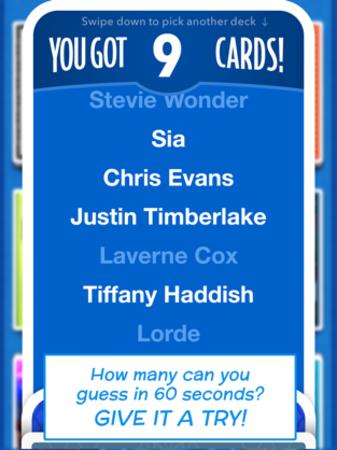 You got 9 cards!